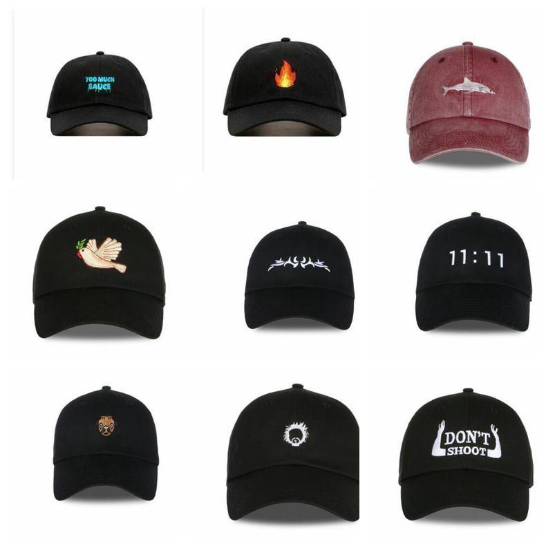 Baseball Caps Adjustable Snapback cap SHARK gorras casquette bone hat  Embroidery Dad Hat Cap 11 design KKA2895