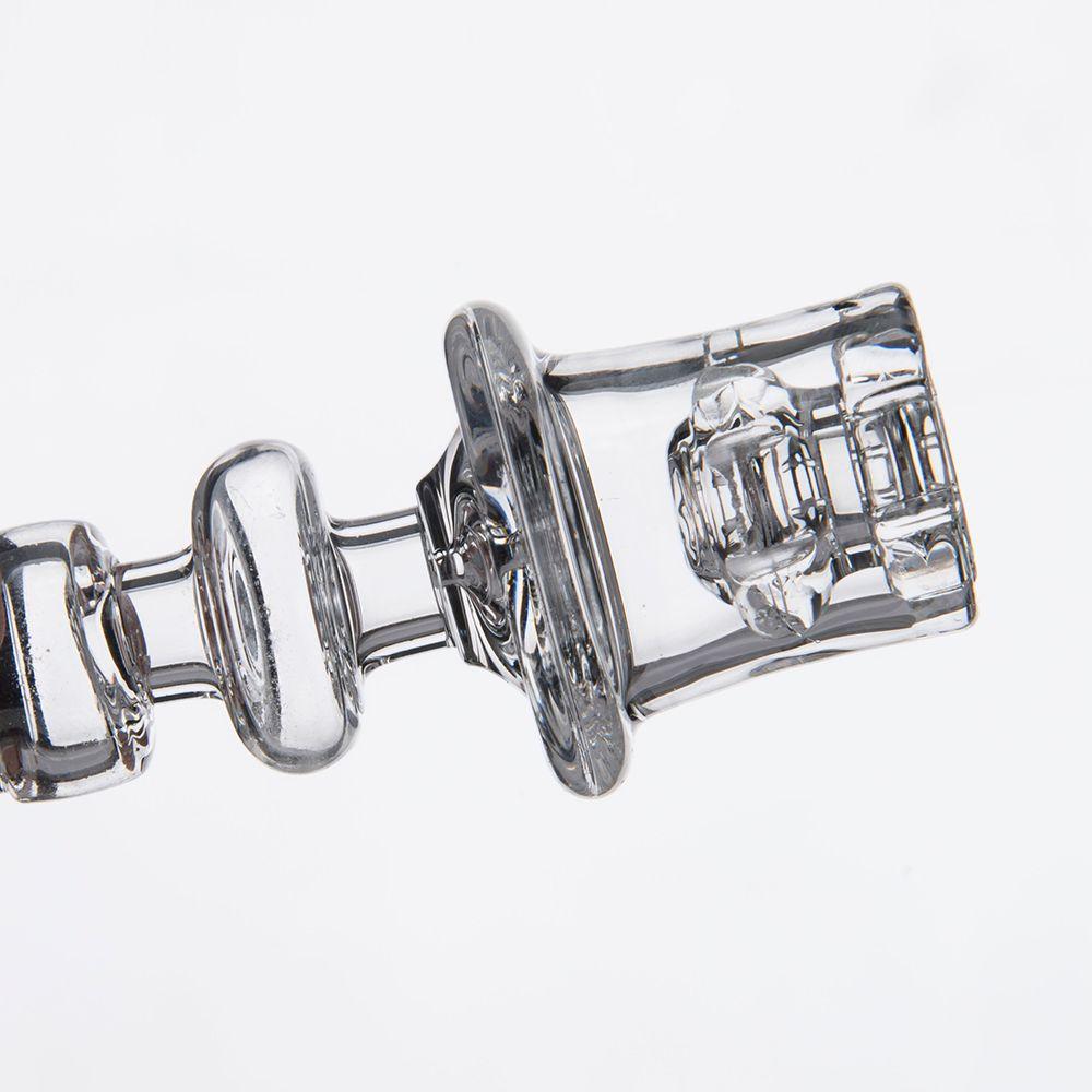 Diamante Nodo Enail Al quarzo Chiodi elettrici Trasparente Giunto bobina da 20mm Design elegante Diametro vasca 19,5 mm