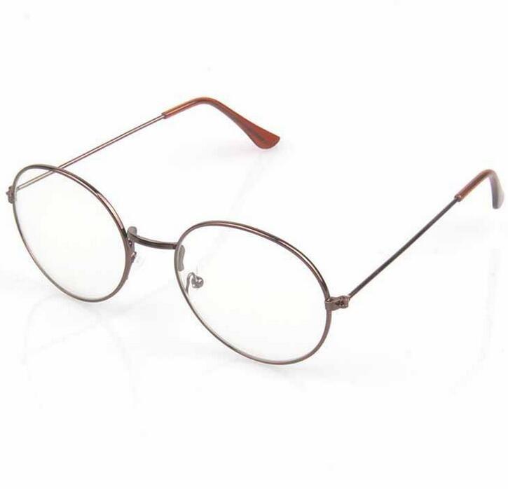 ultima collezione vendita di liquidazione in vendita 2017 nuovi occhiali da vista donna montature da vista in metallo occhiali  rotondi in metallo lenti lente Eyeware retrò montature per occhiali antichi  ...