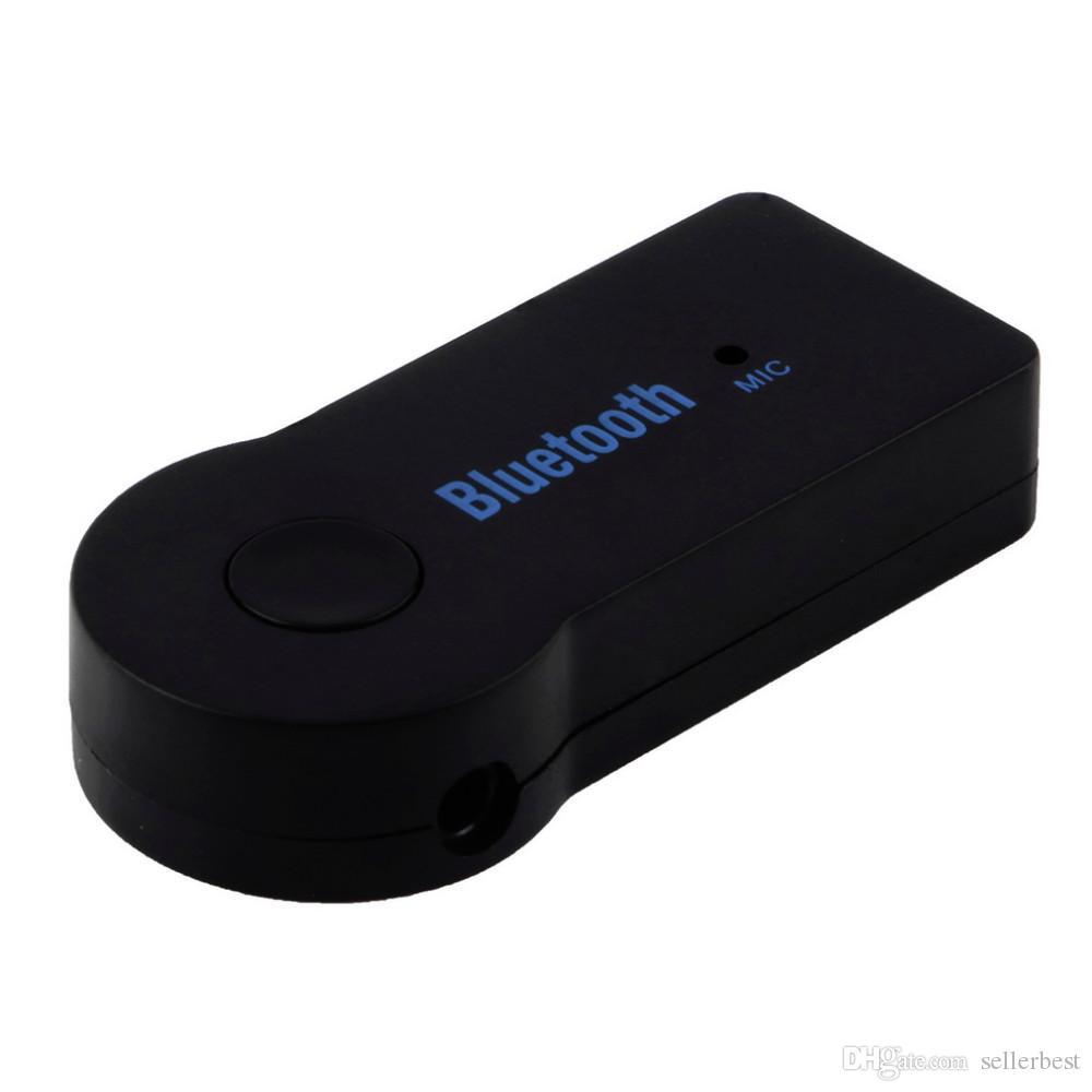 Avec Retail Box Universel 3.5mm Streaming De Voiture A2DP Sans Fil Bluetooth V3.0 EDR AUX Audio Adaptateur Récepteur De Musique Pour Téléphone MP3 Voiture 3.0