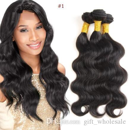 Unprocessed Brazilian Kinky Straight Body Loose Deep Wave Curly Hair Weft Human Hair Peruvian Indian Malaysian Hair Extensions Dyeable