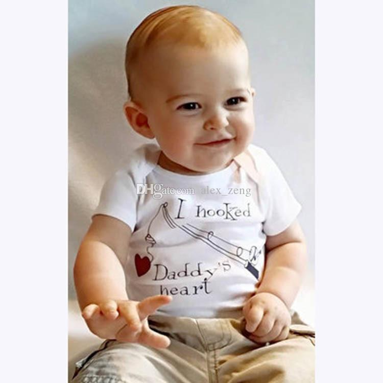 Ins Baby Summer Pagliaccetti 2017 Più nuovo infantile Toddlers Lettere Tuta Tuta in cotone morbido di un pezzo neonato 12 stili