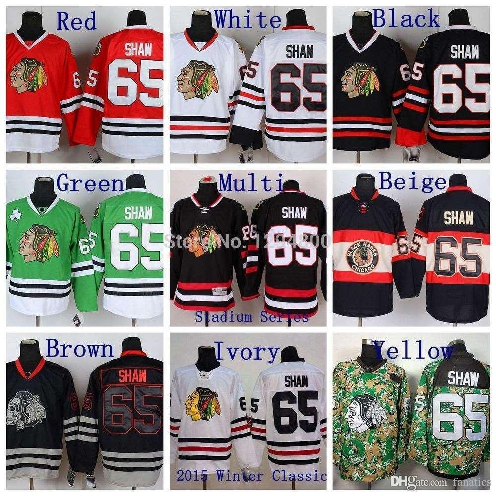 new style e076e 078ec 2016 Winter Classic #65 Andrew Shaw Jersey Chicago Blackhawks Hockey  Jerseys Red Black White Skull Camo Stitched Jerseys Cheap