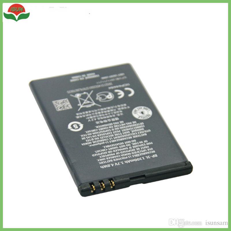 811841458b5 ISUN New Original Battery forBP-3L Phone Battery forLumia 710 510 ...
