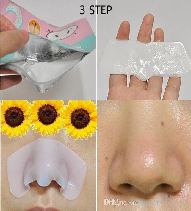 Holika Pig Nose Clear Black Head Perfect Sticker 3 steps Clear Black Head Mask Blackhead Remover