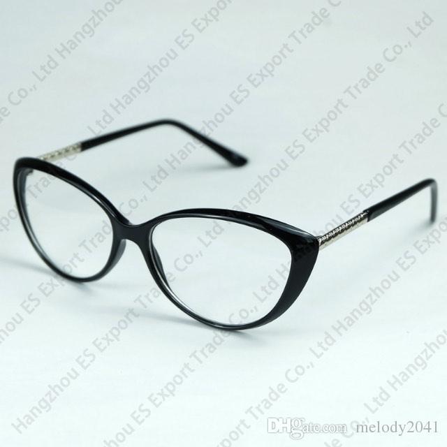 32f569099e529 Cat Eye Glasses Frame With Clear Lenses Vintage Designer Optical Frame For  Women Fashion Style Glasses Shop Glasses Frames For Men Glasses Frames For  Women ...