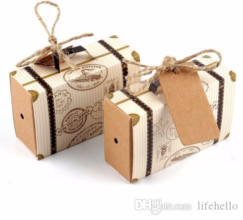 Wedding Favors And Gifts Box Mini Suitcase Candy Box for Wedding ...