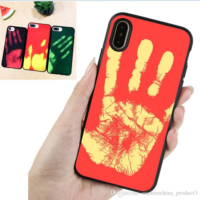 creative case for iphone 8 cover color changing thermal. Black Bedroom Furniture Sets. Home Design Ideas