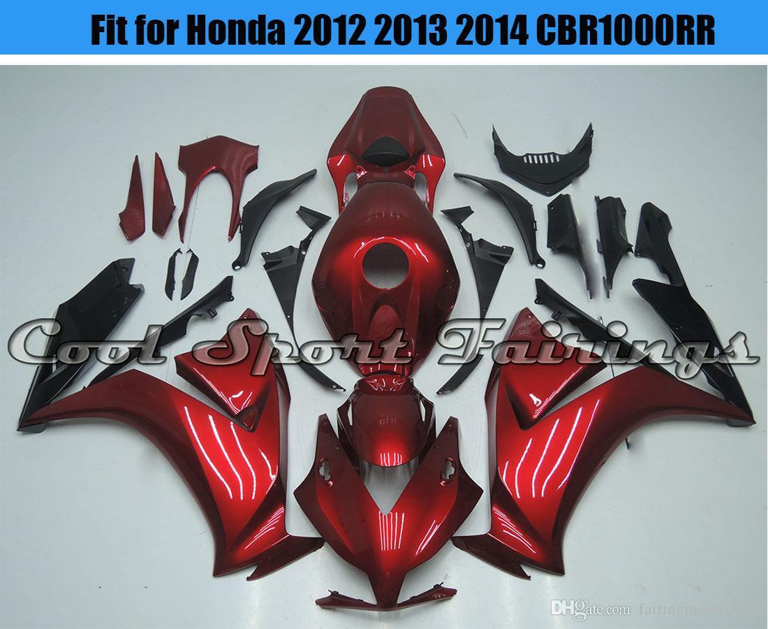 Großhandel Neue 18d Red Verkleidung Kit Fit Für Honda 2012 2013 2014 ...
