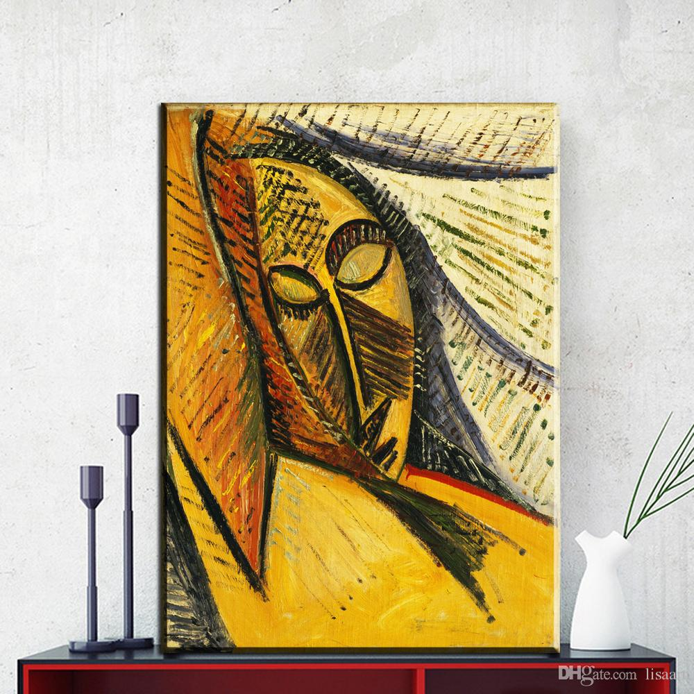 ZZ852 Picasso Abstract Portrait Paintings Canvas Printings Wall Art Picture for Living Room Dining Room Home Decor unframed art