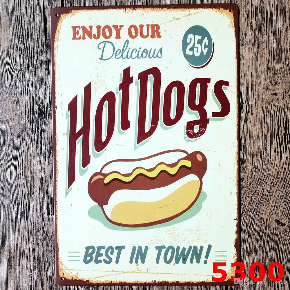Random delivery retro iron painting bundled sale, Tin signs movie poster Art House Cafe Bar wall stickers home decor 20x30 CM