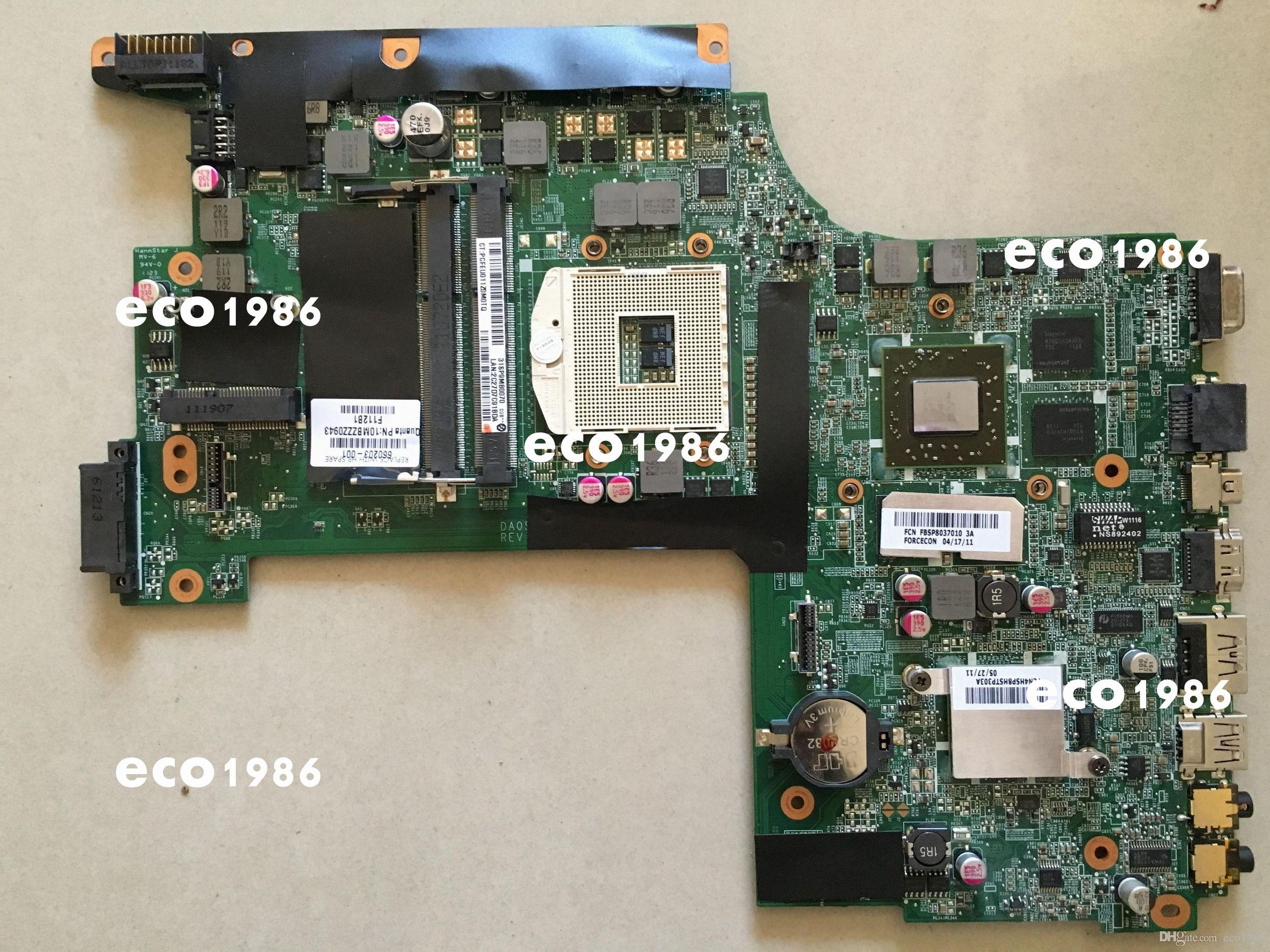 2018 Offer System Board 660203 001 Notebook Motherboard For Hp Circuit Envy17 Laptop Da0sp9mb8d0 100 Tested Working Perfectly From Eco1986