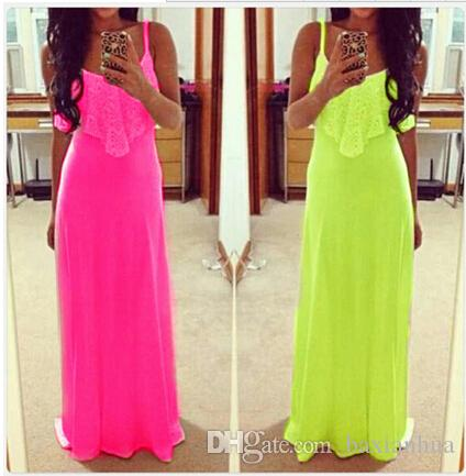 Hot sale Women's Summer Boho Long Maxi Dress Evening Cocktail Party Beach Dress Sundress