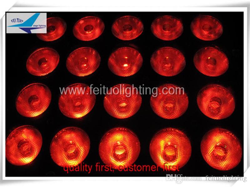 6 /  La lumière de scène extérieure 20x15w rgbwa 5in1 couleur de ville a mené la lumière d'inondation pour la décoration de scène
