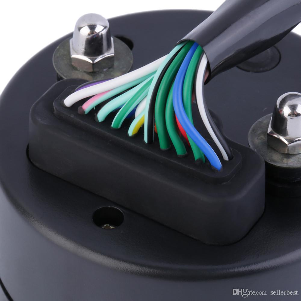 CS-363 12000RMP kmh/mph Universal LCD Digital Odometer Speedometer Tachometer Gear indicator Warning LCD Motorcycle Scooter Golf Carts ATV