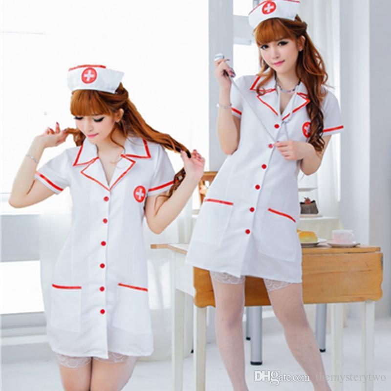 10624858c Venta caliente Envío Gratis trajes de enfermera sexy vestido de gran tamaño  Perspectiva enfermera uniforme cosplay mujeres lencería sexy ropa ...