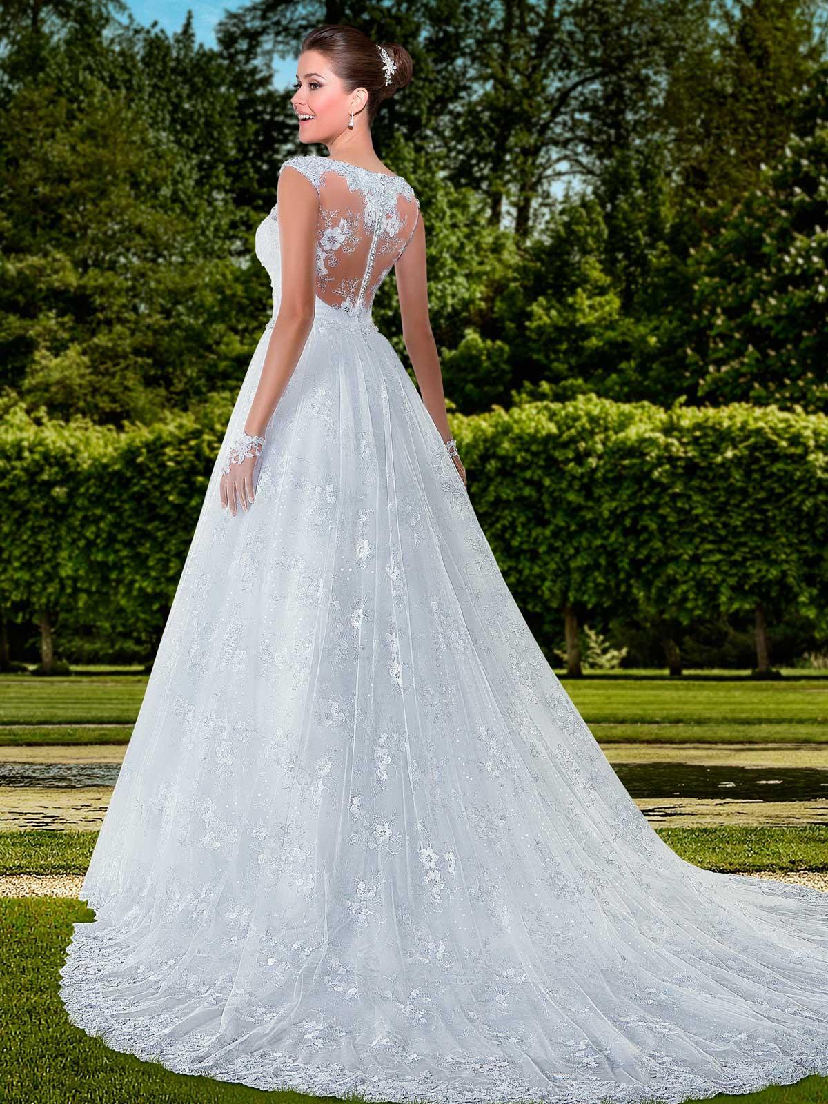 Fancy Vestidos De Novia Molins De Rei Motif - All Wedding Dresses ...