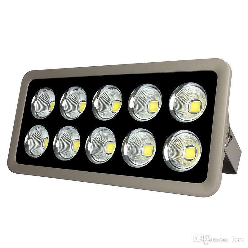 Floodlight LED AC 85-265V COB 200W 300W 400W 500W Reflector Reflector Luz de iluminación de iluminación impermeable Impermeable Gargen Lámpara