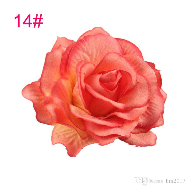 2017 Spring New Listing Wedding hairstyle Bridal Rose Flower Hairpin Brooch Party Bridesmaid Hair Clip Hair Band Accessories