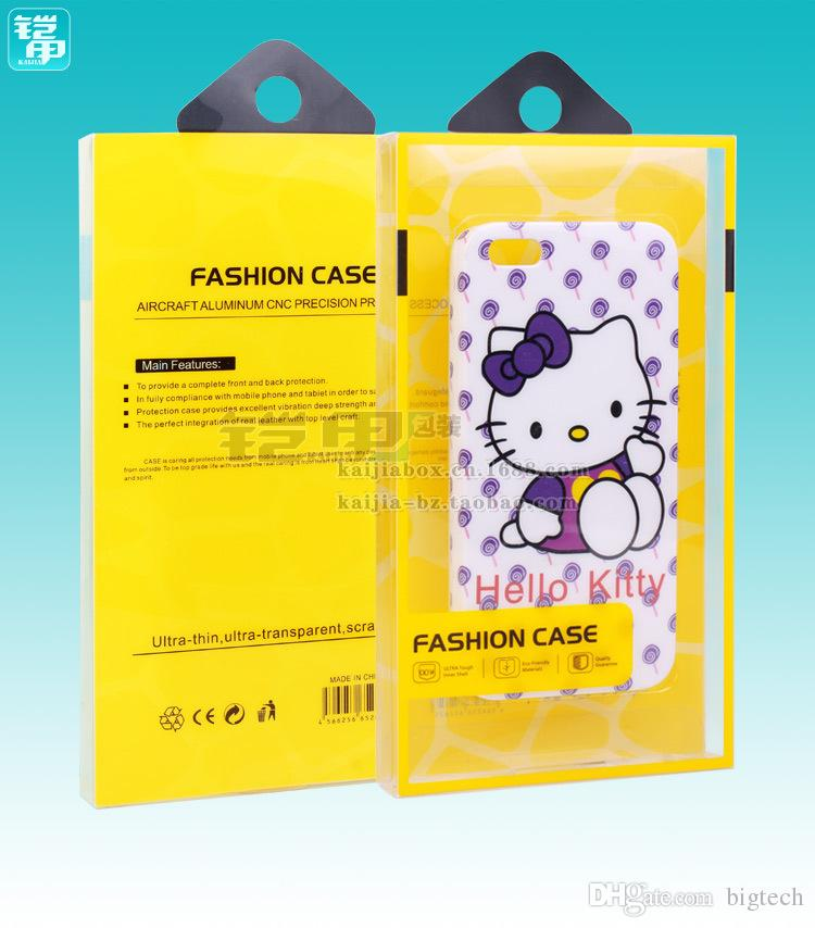 telefono cellulare scatola di imballaggio regalo caso di nuovo disegno caldo di vendita di alta qualità con i vassoi interni 5,5 pollici iPhone 7 / 7plus