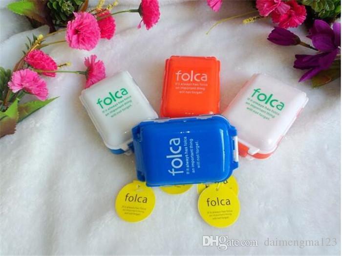 Коробка случая хранения Таблетки медицины Folca 8 отсеков медицинский контейнер для хранения Таблетки чехол ювелирные изделия чехол мини пластиковый корпус заначку D889