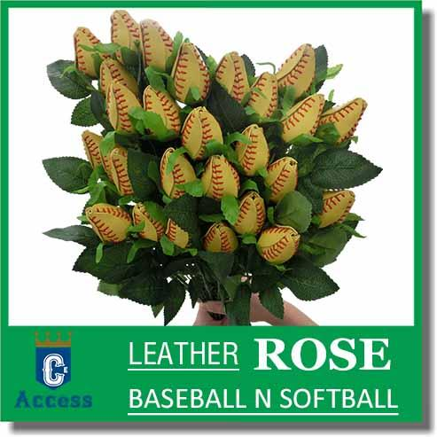 Rose longue balle de baseball - Cadeaux - Objets de collection