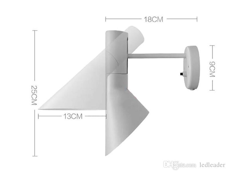L5-Modern Creative AJ Wall Lamp Sconce E14 Arne Jacobsen Classic Lights Living Room Bedroom Den Wall Sconce