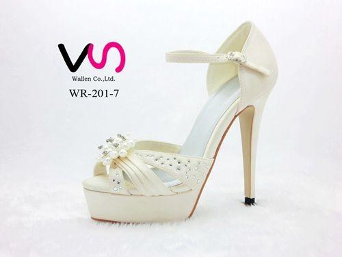 9f402b7bb667 10cm Heel Ivory Color Platform Sandal Style Bridal Shoes Wedding Dress Shoes  Handmade Shoes For Wedding Prom Party Shoes Rhinestones Bride Flower Bride  ...