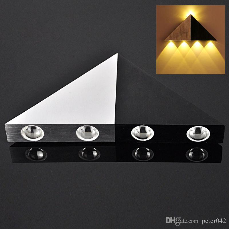 5W Warm White 5 LED Stair Up Down Wall Light Spot Lamp Hall Path Sconce Lighting