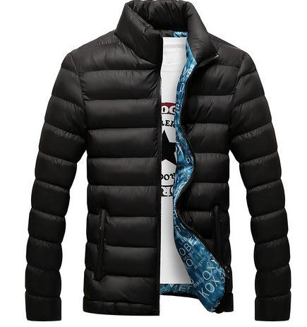 Fashion Men'S Winter Jacket 2017 Men'S Cotton Blend Jackets Mens ...