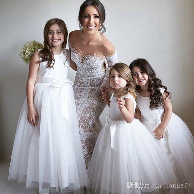 2018 spring flower girl dresses for wedding party cheap for Matching wedding and flower girl dresses
