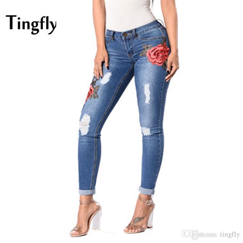Jeans Rotos Para Mujer 2017 Bruin Blog