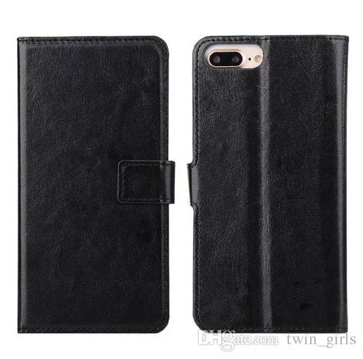 İPhone 7 / iPhone 7 Artı Cüzdan Deri Flip Case Hibrid Arka Kapak DHL