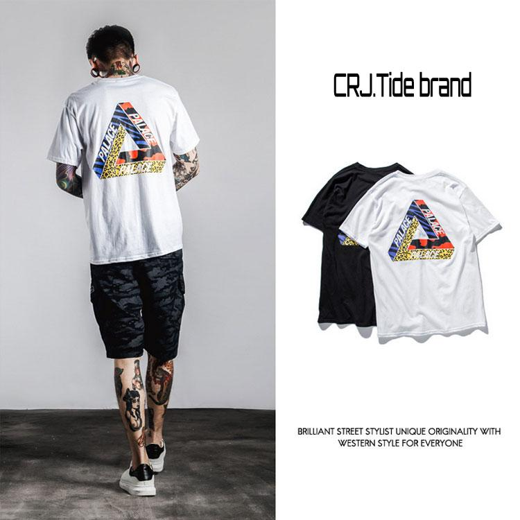 fe36c393 Summer Hot Style PALACE Interview Body Version of Men's Edison Chen Hong  Kong Style Round Collar T-shirt with Short Sleeves ZJW038 Online with  $21.72/Piece ...