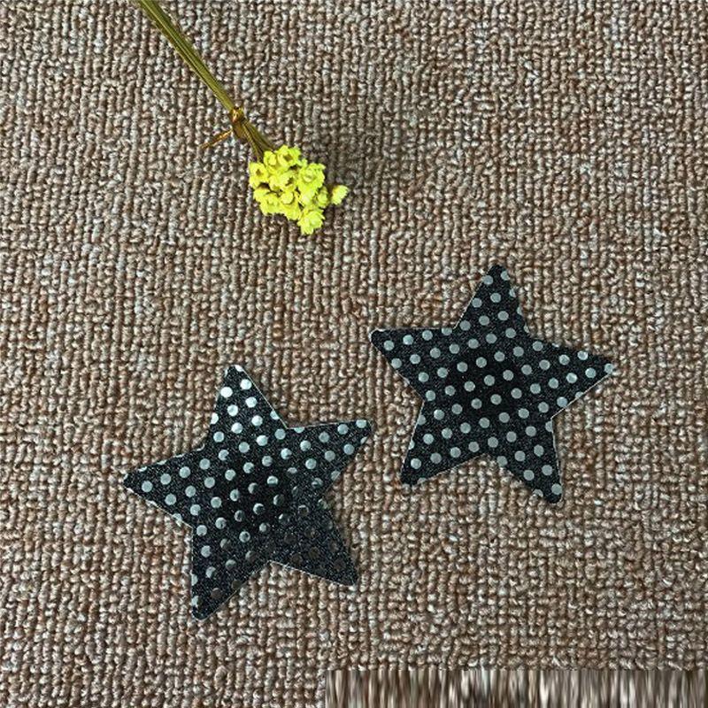 Frauen-Kleidung Stern-Brust-Blumenblatt-reizvolle Büstenhalter-Auflage-klebende Nippel-Abdeckung Wegwerf die Kasten-Paste verkörpert Sommer-Art =