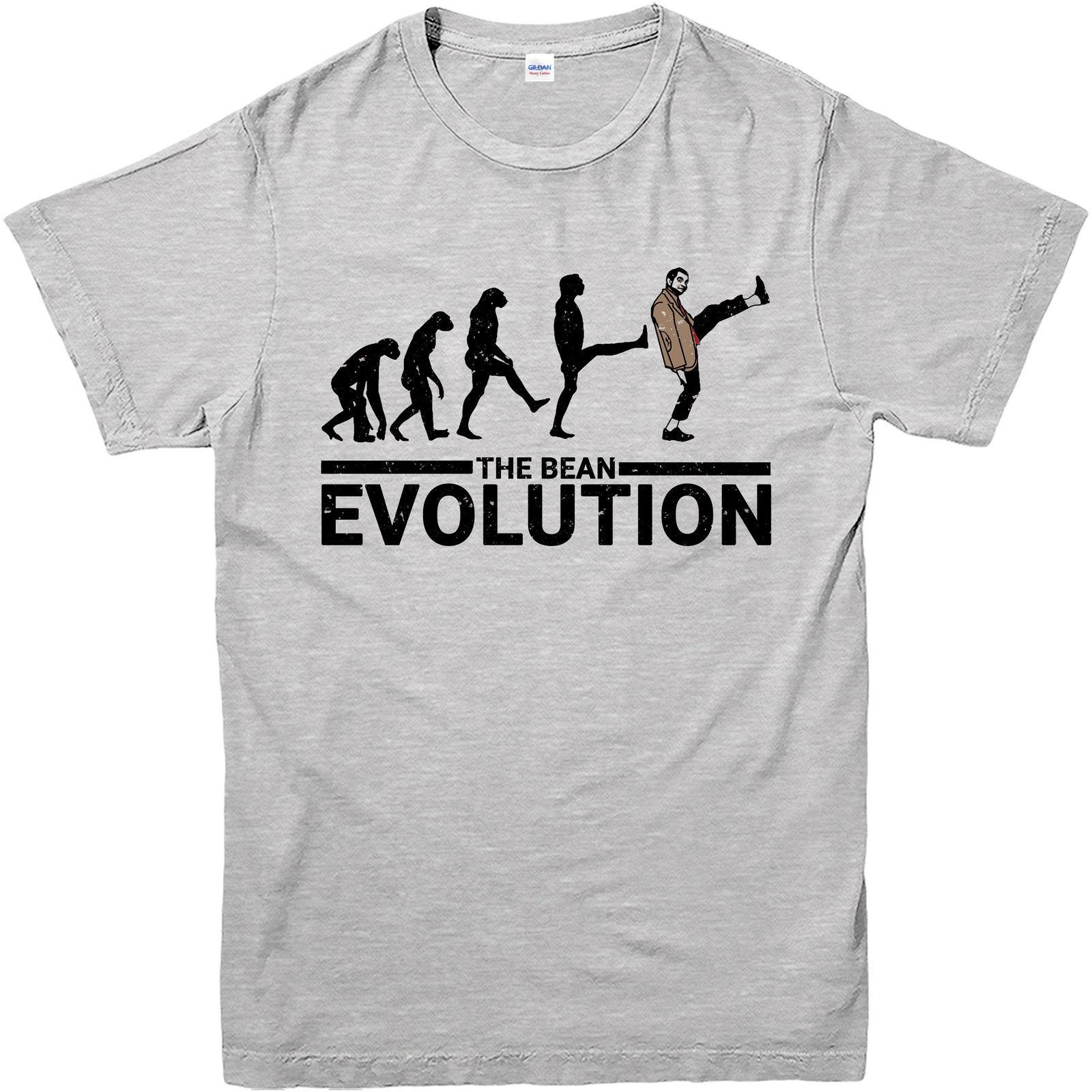 d9977cab3 Mr Bean T-Shirt,The Bean Evolution Spoof,Adult And Kids Sizes Men Adult T  Shirt Short Sleeve Cotton Online with $12.99/Piece on Bstdhgate09's Store  ...