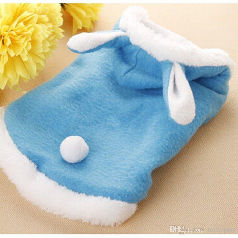 Rabbit Style Dog pet Jacket Supplies Dog Clothes Rabbit Winter Apparel Puppy Costume Warm With