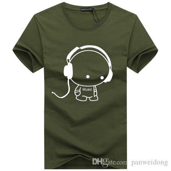 Marke 2017 neue Sommer Stil Baumwolle Männer Kleidung Männer Slim Fit T-Shirt Mann T-Shirts Casual T-Shirts Swag Herren Tops T-Shirts