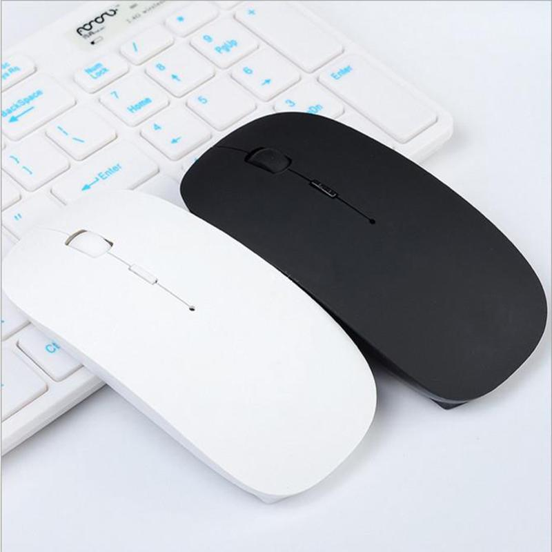 80a6c6a569f 2019 Wholesale Ultra Thin USB Optical Wireless Mouse 2.4G Receiver Super Slim  Mouse For Computer PC Laptop Desktop Black White Candy Color From Jessiety,  ...