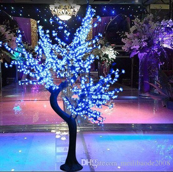 2017 LED Cherry Blossom Tree Light Ampoules LED 1.8m Hauteur 110 / 220VAC Sept Couleurs pour Option Imperméable à l'Extérieur Usage Drop Shipping MYY