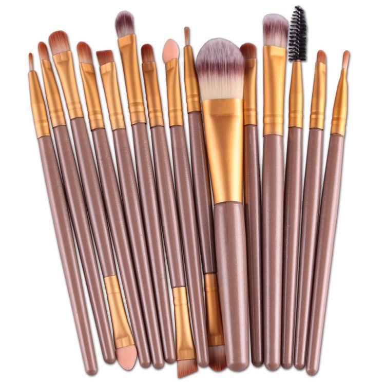 VANDER Set Professional Makeup Brush Foundation Eye Shadows Lipsticks Powder Make Up Brushes Tools with opp bag