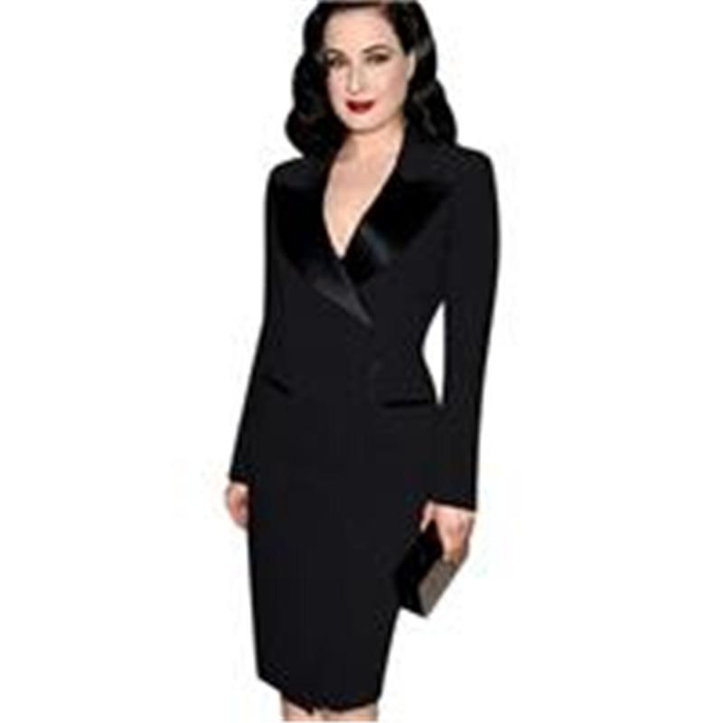 2018 Women Work Dress Suits Ladies Autumn Spring Dress Suits High