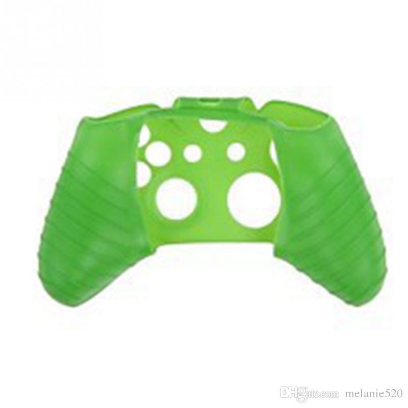 Для Xone Мягкий Силиконовый Гибкий Гель Резиновая Кожа Чехол Для Xbox Один S Тонкий Контроллер Ручка Крышка