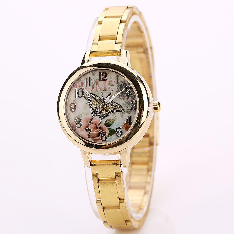 High Quality New Geneva Women's watches Quartz relogio Roman Numerals Faux Leather Analog WristWatch XR1977