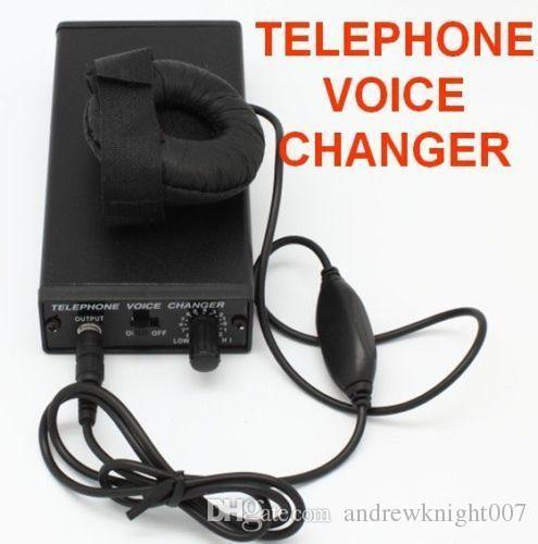 New Gadgets Telephone Voice Changer Professional Disguiser Phone Transformer SPY Bug Change