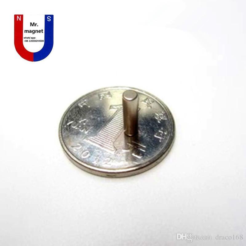 vente chaude D3mmx10mm D3x10mm 3mm * 10mm 3 * 10, D3 * 10 3x10mm 3mmx10mm N35 NdFeB Super puissant aimant permanent de terres rares