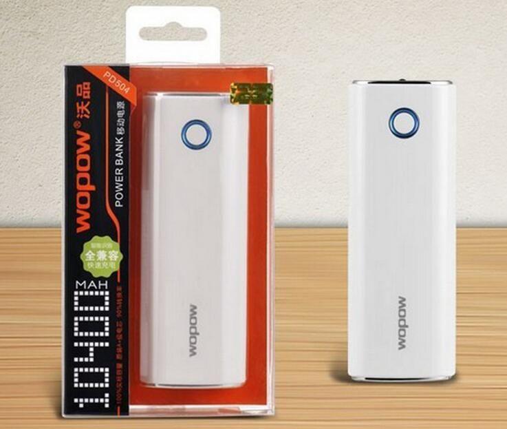 New Model Big Capacity 10000mAh Power Bank Small And Portable Power Bank for Universal Mobile With USB Socket