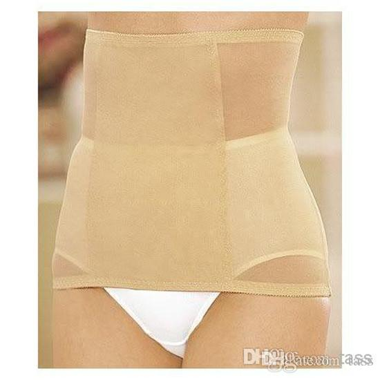 b4e9f66ec5 Tummy Waist Support Body Shaper Trimmer Slimming Belt Invisible Figure  Control Underwear With Opp Bag Package Slimming Exercise Belt Slimming Tummy  Belt ...