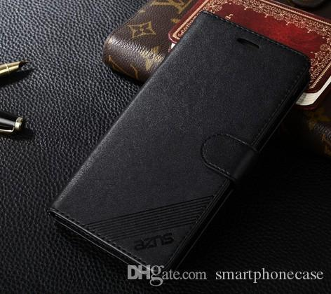 Huawei 명예 5X 케이스를 위해 차가운 귀여운 지갑 플라스틱 뒤집기 덮개 Huawei 명예 5X를 위해 호화스러운 다채로운 매우 얇은 본래 상표 가죽 케이스