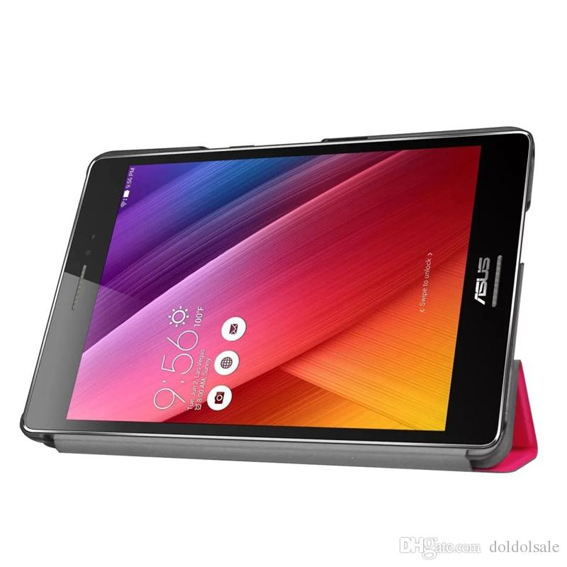 """Slim PU Leather Cover for 2016 Asus Zenpad Z8 ZT581KL 7.9"""" Tablet Case + Screen Protector Protective Film + Stylus Pen"""